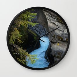 Nature's Melt I (Norway) Wall Clock