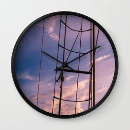 Charleston Sailboat VIII Wall Clock
