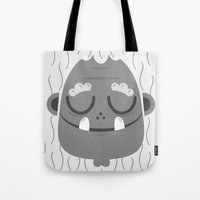 Sleeping Jeti Tote Bag
