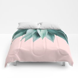 Agave fringe - blush Comforters