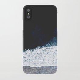 Ocean III (drone photography) iPhone Case