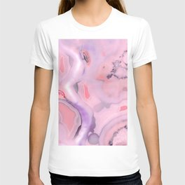 Living Coral and Purple Agate T-shirt