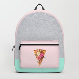 FLORAL PIZZA Backpack