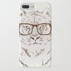 The Hipster Tiger Slim Case iPhone 7 Plus