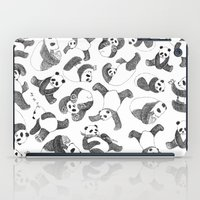 pandas iPad Cases featuring Pandas by Karen Vaughan