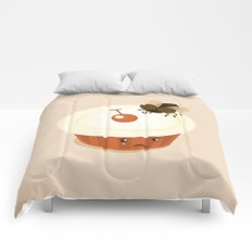 Fly on a Cupcake Comforters