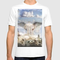 City of Hope Mens Fitted Tee MEDIUM White