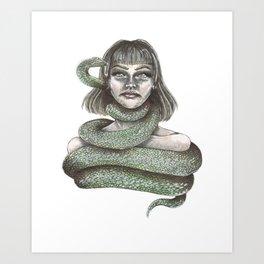 Constriction Art Print
