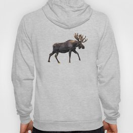 Polygon geometric Moose Hoody