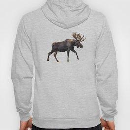 Polygon geometric Moose Hoody