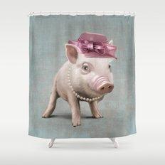 Miss Piggy Shower Curtain