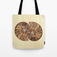 minerals Tote Bags featuring HISTORY IN MY HAND by Catspaws