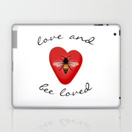 Love and Bee Loved Laptop & iPad Skin