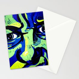 My emotive face in the spring Stationery Cards