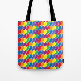 Pride Heart Scale Pattern Tote Bag