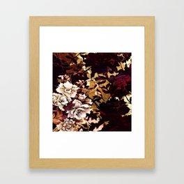 Tropical Blaze Floral Print Framed Art Print