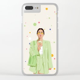 I cancel plans to spend time with me. Clear iPhone Case