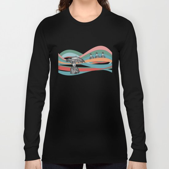 Riding the Waves Long Sleeve T-shirt