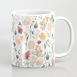 Deep Florals Coffee Mug