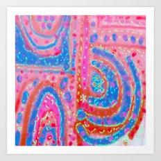 Pink Power Art Print