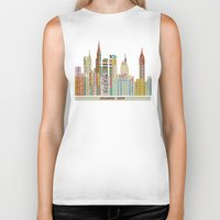 atlanta Biker Tanks featuring Atlanta by bri.buckley
