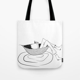 the flow of the reading! Tote Bag