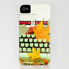 It Was a Gorgeous Autumn Day Slim Case iPhone (4, 4s)