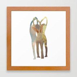 Absorbed Elements Framed Art Print