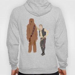 Han Solo and Chewbacca Hoody