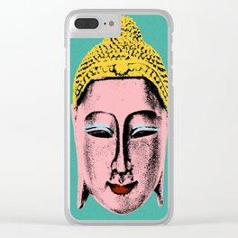 Pink Buddha Clear iPhone Case