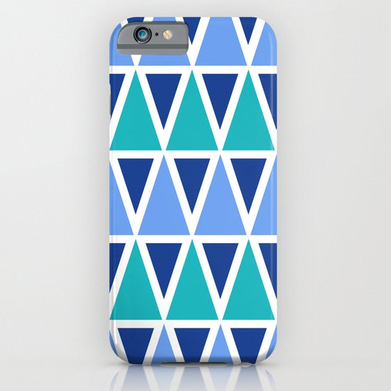 Tribal Pattern - Blue iPhone & iPod Case