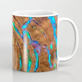 Sea of blue opal Coffee Mug