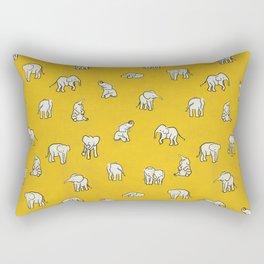 indian baby elephants Rectangular Pillow