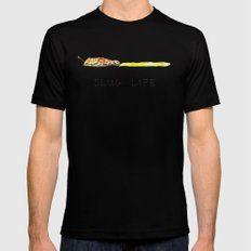 Slug Life MEDIUM Black Mens Fitted Tee