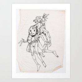 Sketch #7 Art Print