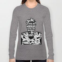 Sandra Bland - Black Lives Matter - Series - Black Voices Long Sleeve T-shirt