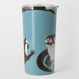Asiatic and African clawless otter Travel Mug