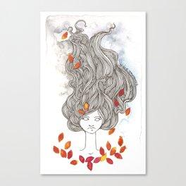 Ulalume Canvas Print