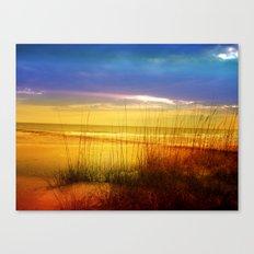 Lido Beach Canvas Print