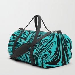 Marble pattern sea wave Duffle Bag