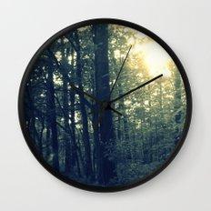 Dual Nature Wall Clock