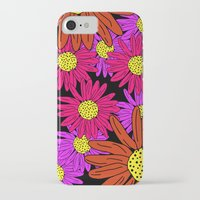 pushing daisies iPhone & iPod Cases featuring Pushing Daisies by Lotus&Moon