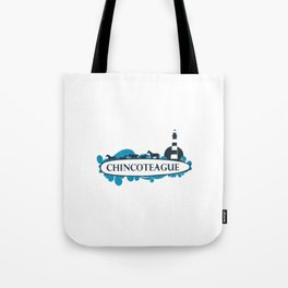 Chincoteague Island - Virgina. Tote Bag