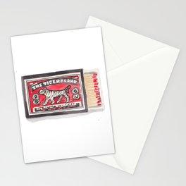 Tiger Brand Vintage Matchbox Print Stationery Cards