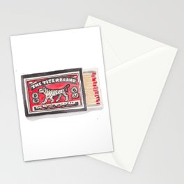 Tiger Brand Vintage Matchbox Print Stationery Cards