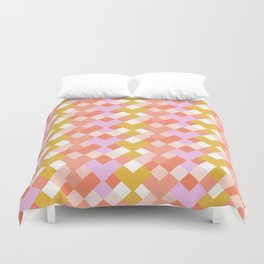 Geometic Summer Pattern Duvet Cover