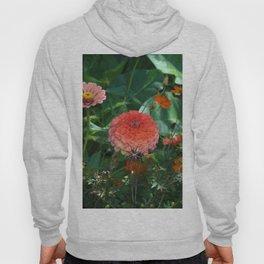 Flowers in Juicy Citrus Colors Hoody