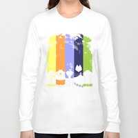 teen titans Long Sleeve T-shirts featuring Vector Titans by Hybryda