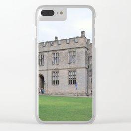 Merlin's castle Clear iPhone Case