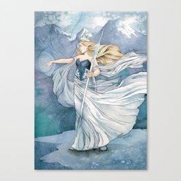 Always Winter, Never Christmas Canvas Print